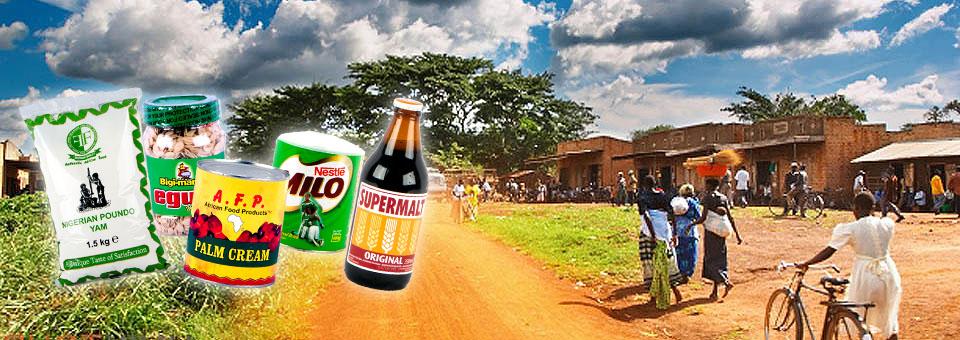 Afrikaanse producten