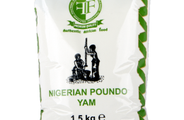Nigerian Poundo Yam