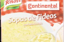 Sopas de Fideos